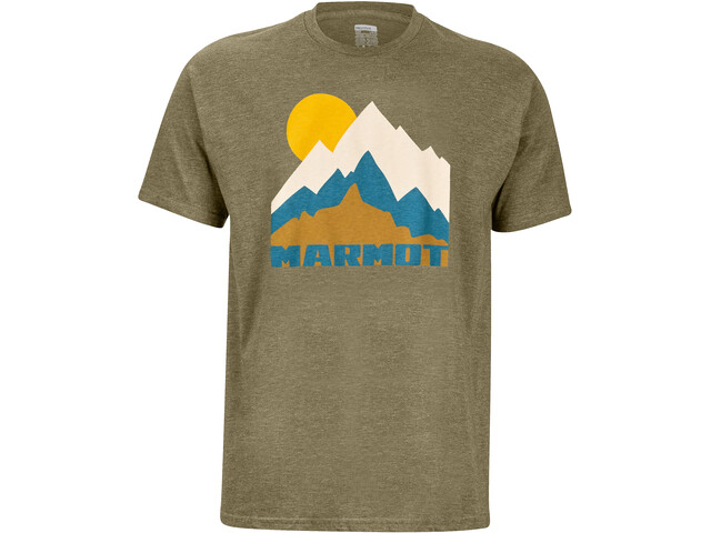 Marmot Tower T-shirt Homme, olive heather